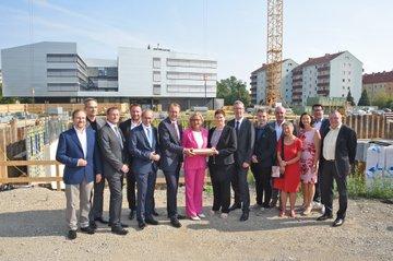 Cornerstone Ceremony for Campus St. Pölten