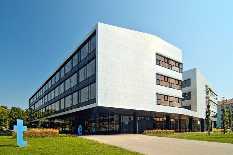 View of St. Pölten UAS