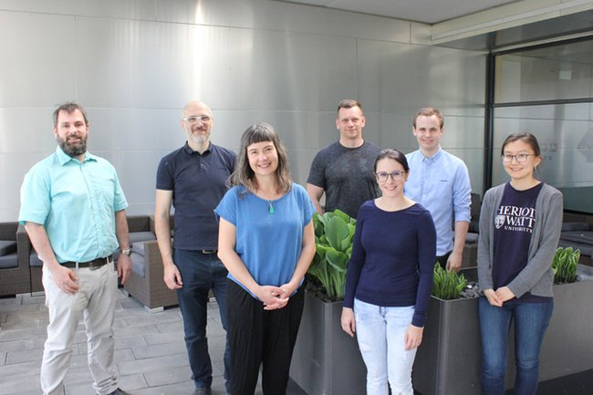 Fruitful exchange with Miriah Meyer, internationally renowned expert in visualization / visual computing at the St. Pölten UAS