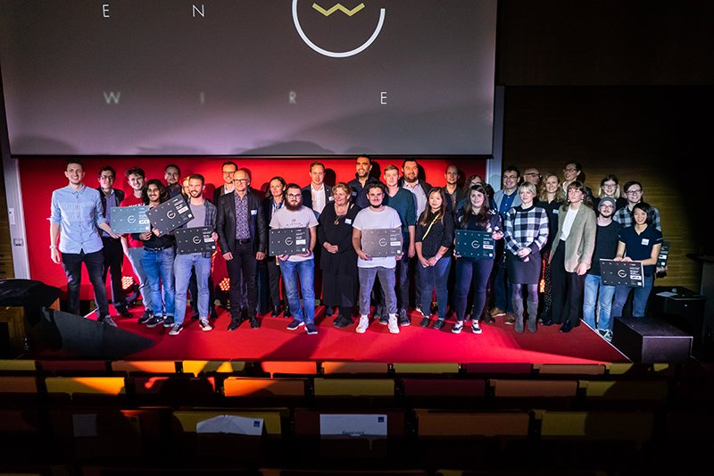 The winners of the 2019 Golden Wire Awards