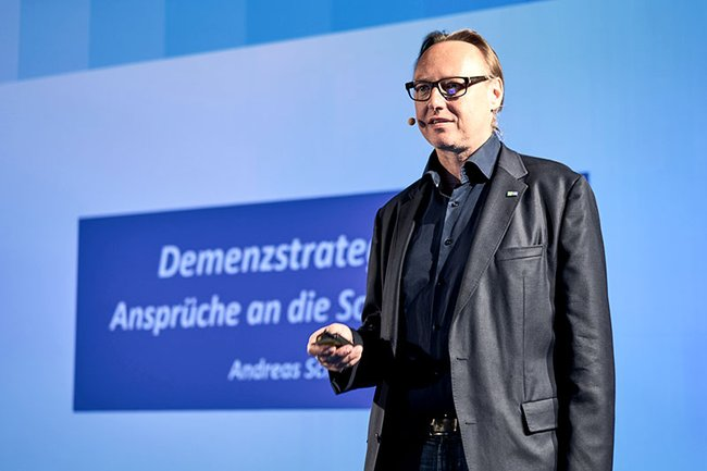 Andreas Schneider during his talk