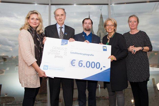 St. Pölten UAS Project Wins riz up GENIUS 2019