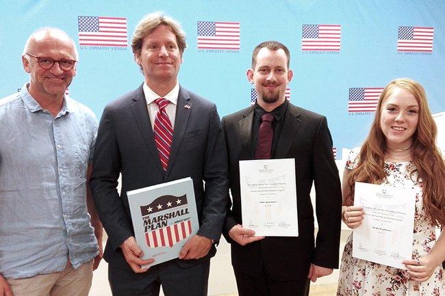 Alois Frotschnig, Trevor D. Traina, Peter Beard and Ashley Stephenson