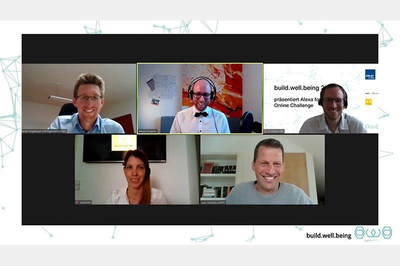 Alexa for Wellbeing Online Challenge Jury