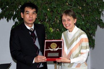 Vice-President Le Minh Thai and Monika Vyslouzil
